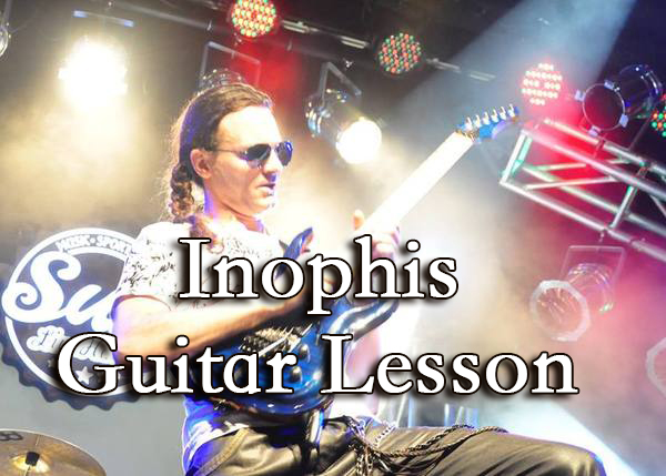 Inophis Guitar School - licks + tabs